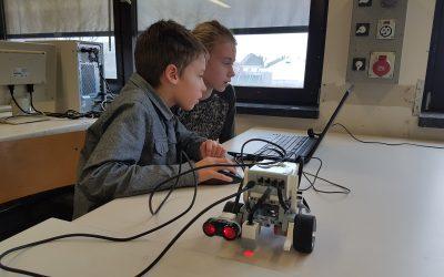 Robotica: Lego Mindstorm reeks 1, kinderen 6 – 12 jaar