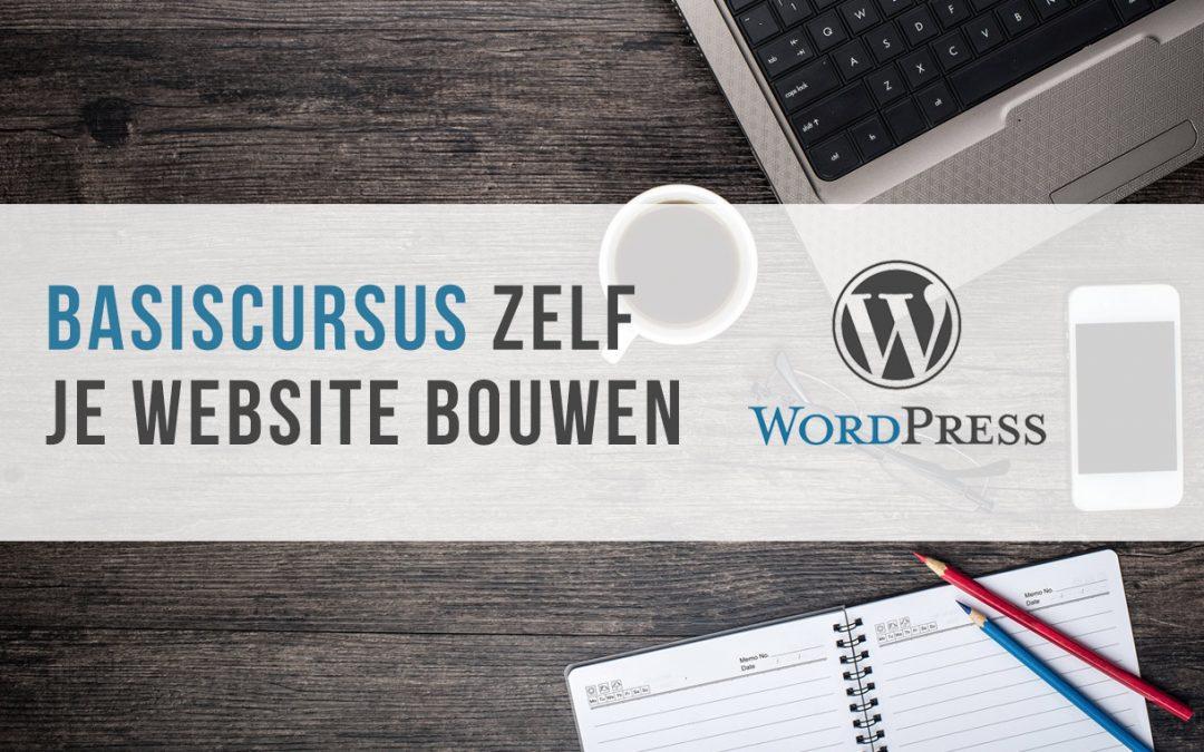 Zelf je website bouwen met WordPress in 3 Lessen!
