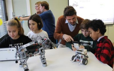 Atheneum Merelbeke maakt met 'Legoklas' technische lessen aantrekkelijker