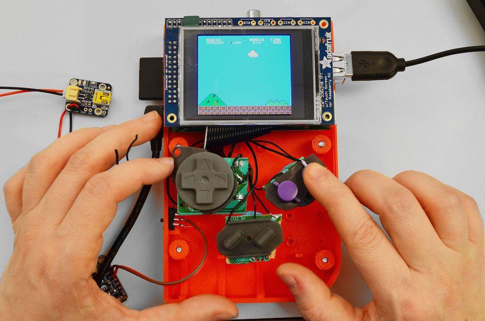 Maak je gameconsole met de Raspberry Pi