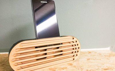 Creëer zelf een speaker voor je smartphone
