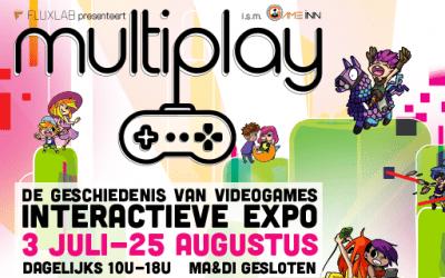 Multiplay: De geschiedenis van videogames – interactieve expo