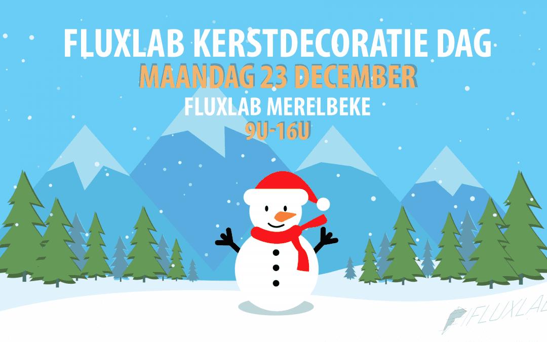 Kerst Decoratie Dag! 23 december te Merelbeke