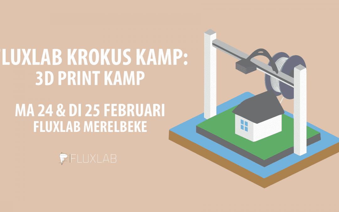 3D-print Krokuskamp Merelbeke!