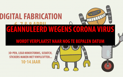 Digital Fabrication Bootcamp (GEANNULEERD)