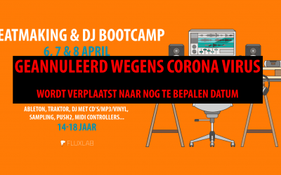 Beatmaking & DJ Bootcamp (Paasvakantie)