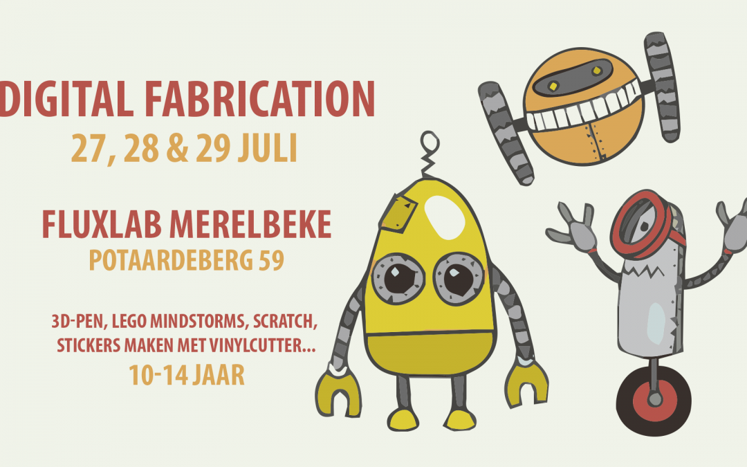 Digital Fabrication Bootcamp (Nieuwe Data Zomer)