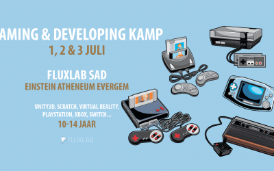 Gaming & Developing Kamp (Nieuwe Data Zomer)